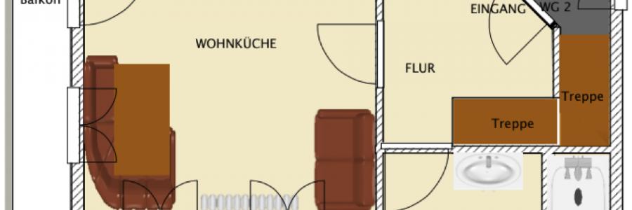 Grundriss Brunella – 1. Etage