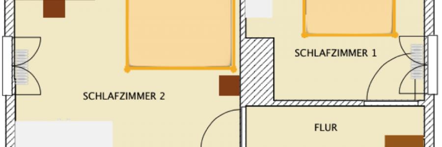 Grundriss Brunella – 2. Etage
